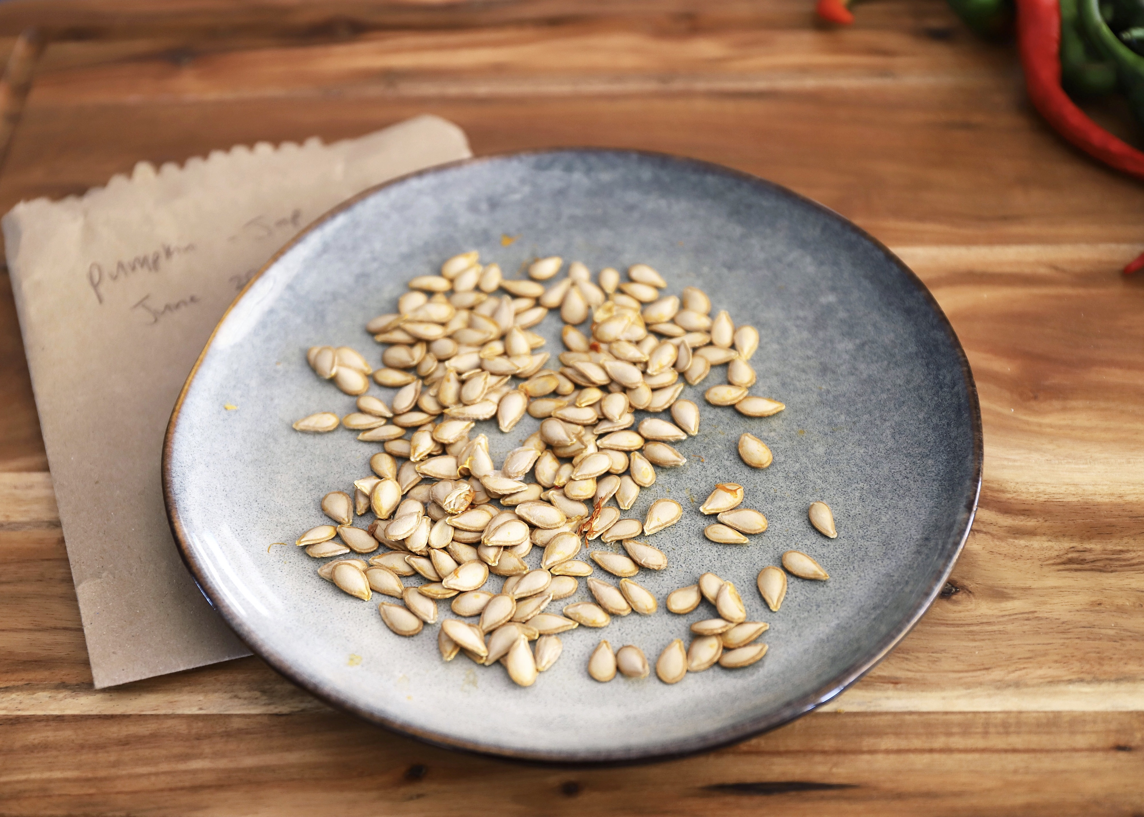 self-sufficient seed saving