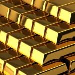 Money - pile of gold bars