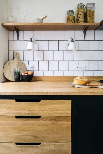 light oak kitchen cabinets nyc green industrial style galley - sustainable kitchens