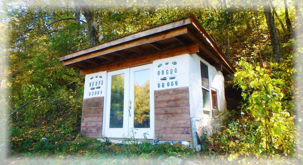 Earthbag Tiny House