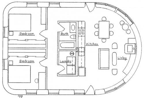 Mediterranean House Floor Plan