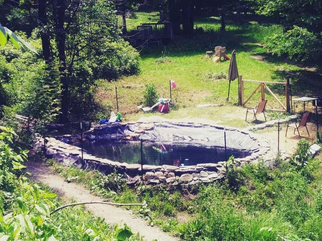 Natural Earthbag Pool