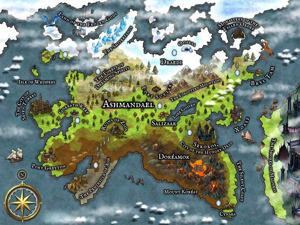 Ashmandael Multidimensional Dungeons