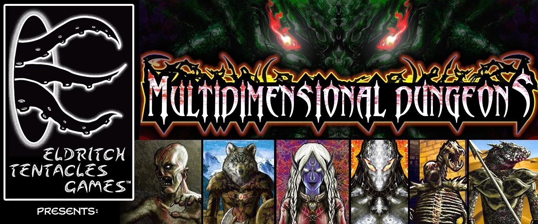 Multidimensional Dungeons Website Banner