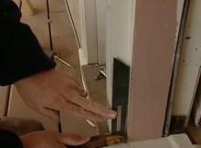Installing a storm door