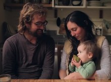 Off-grid family living video
