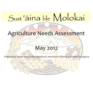 Agricultural Needs Assessment