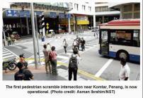 malaysia penang ped crossing