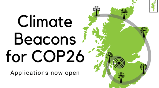 Climate Beacons for COP26 – applications now open
