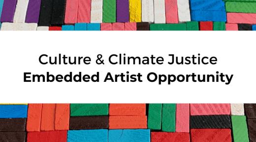 Opportunity: Creative Carbon Scotland seeks embedded artist