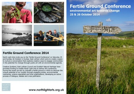 Contents of Fertile Ground event leaflet including programme
