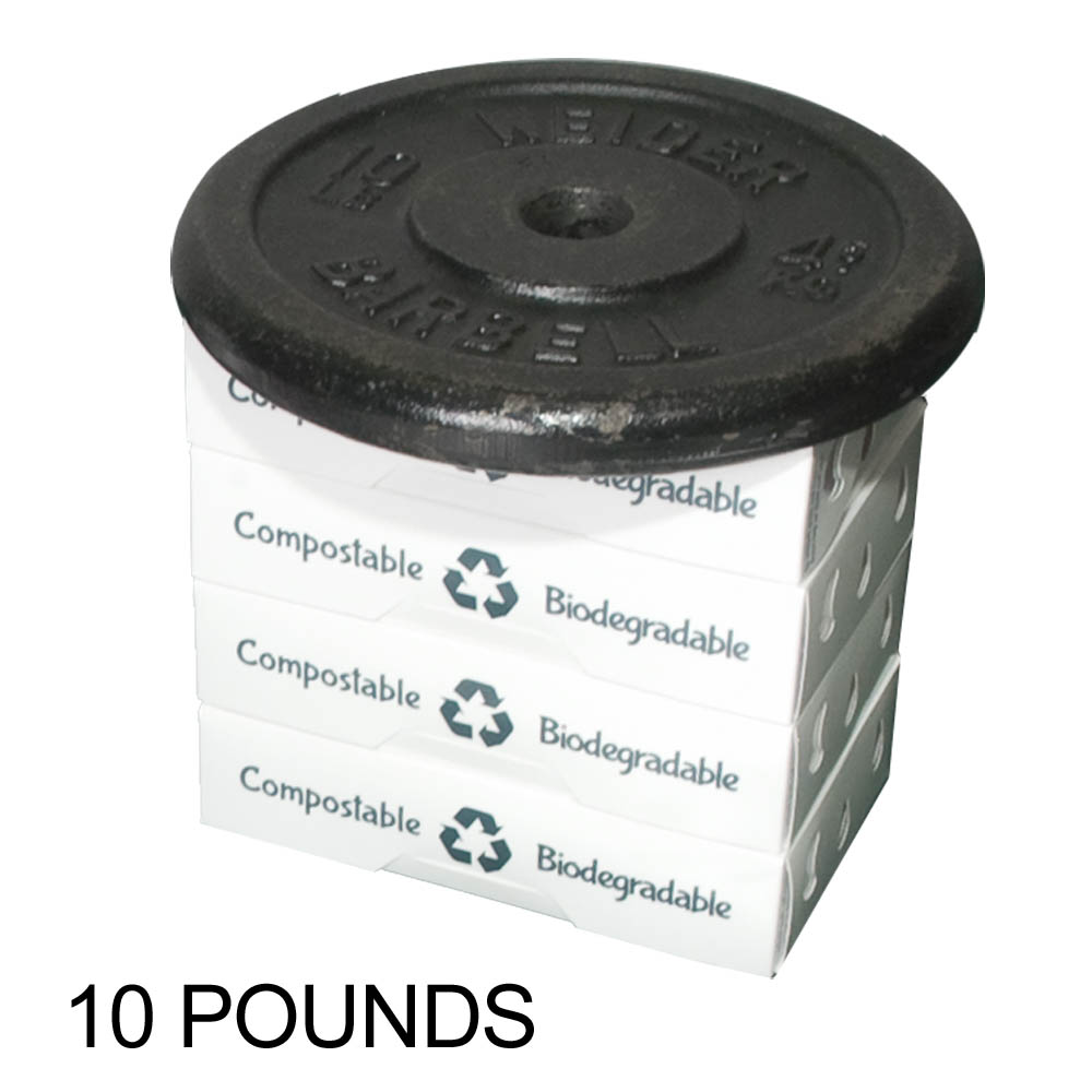 Sustainable Produce Container: Low Profile Pint Natural Plastic Alternative – Sustainable Produce Container | 888-883-7259