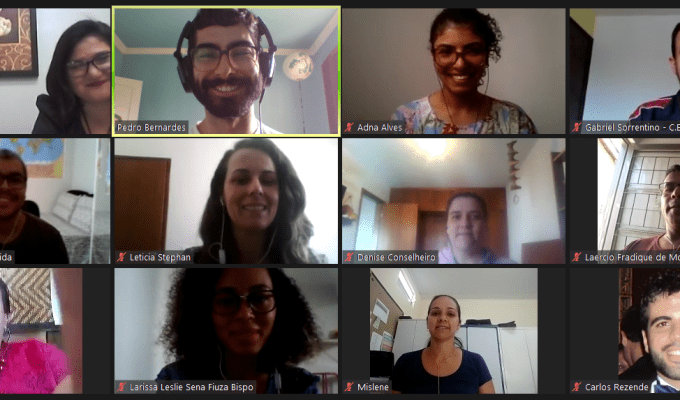 1 Year of Search for Sustainable Schools in Brazil: Virtual Regional Meeting with Selected Schools
