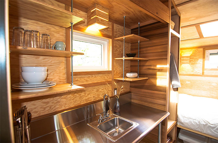 96 sq ft Tiny Cabin  The Salsa Box  Sustainable Simplicity