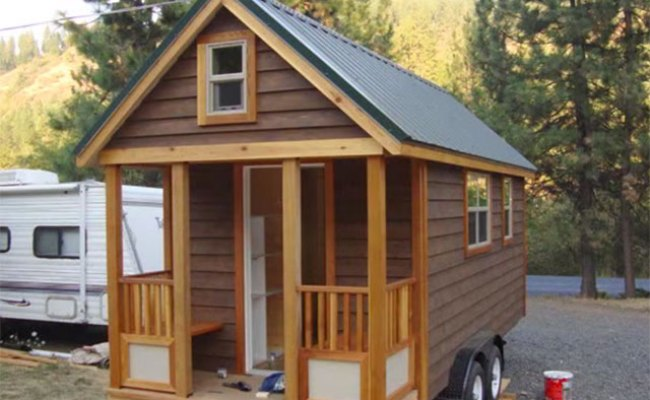 Off Grid Diy Tiny House On Wheels Sustainable Simplicity