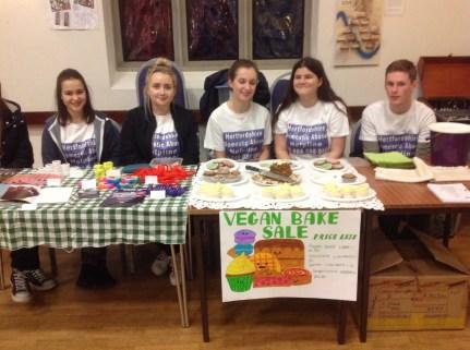 Dragons' Apprentice making Vegan Cakes for sale