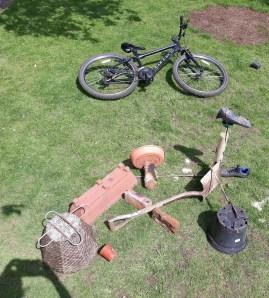 Lockdown competition - Bike art