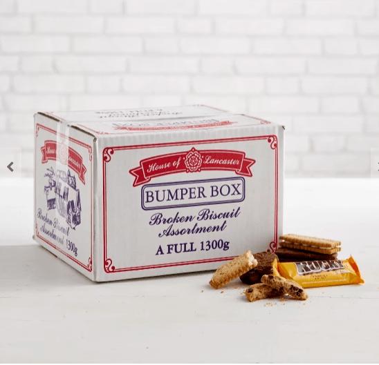 bumper box broken biscuits