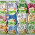 12 Organic cloth bumgenius diapers in different colours