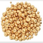 a pile of gold nuggets