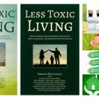 Less Toxic Living Front Cover, 3 options