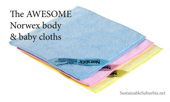 The Fabulous Norwex Body Cloths And Baby Cloths Sustainable Suburbia