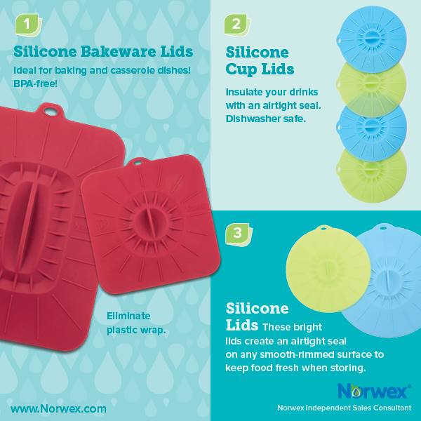 Square Or Rectangular Silicone Lid Instructions