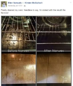 Norwex oven and gill cleaner testimonial and before and after   SustainableSuburbia.net