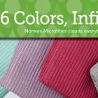 Norwex kitchen cloths 6 colours infinite uses | SustainableSuburbia.net