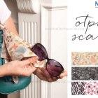 Norwex Optic Scarf - clipped onto hand bag to clean glasses, screens etc. | Sustainable Suburbia.net