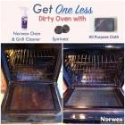 cleaned oven with oven & grill cleaner Norwex