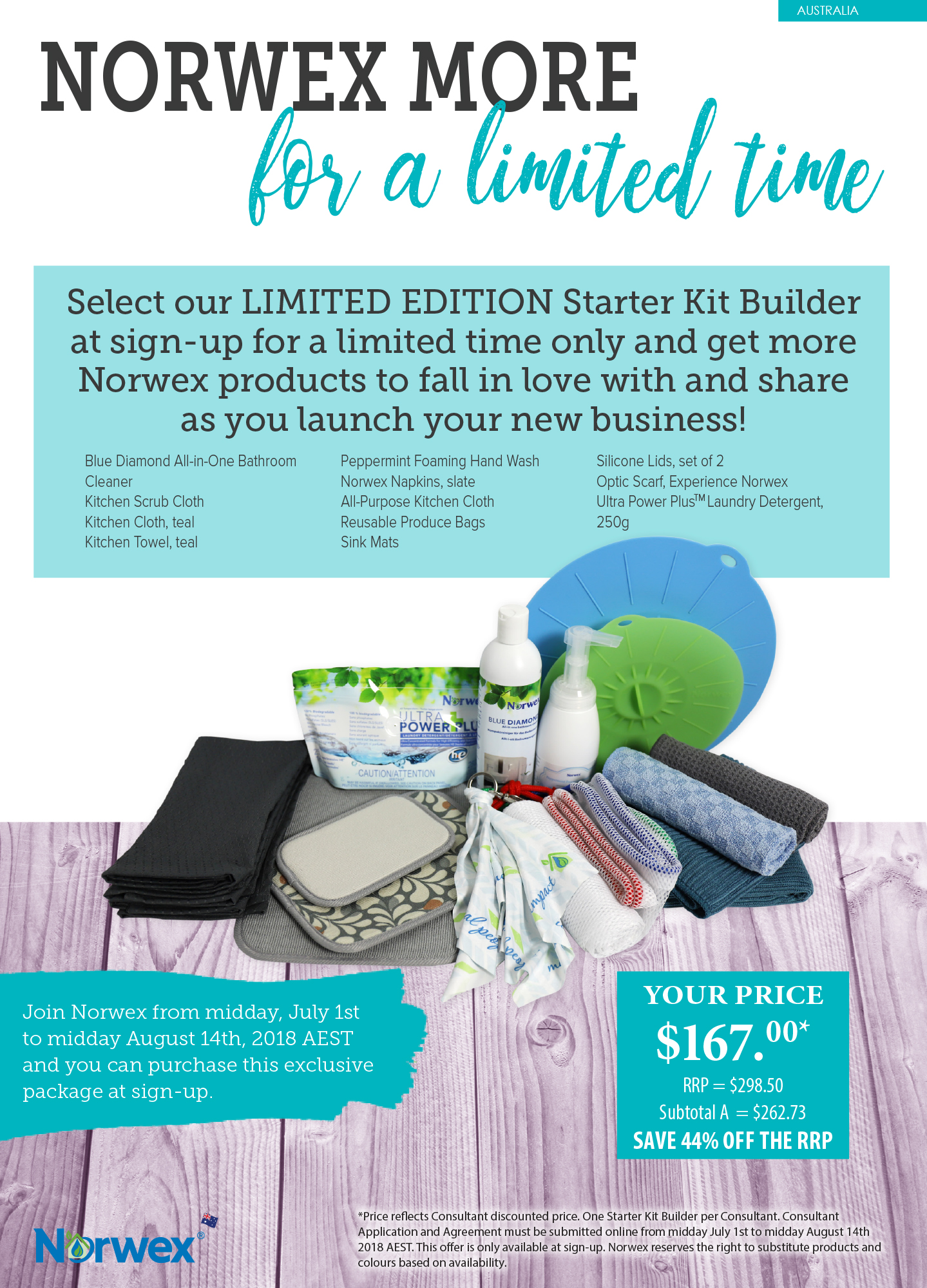Join Norwex For Free In Australia And New Zealand In July And August