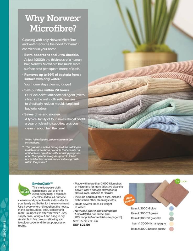 2018 Spring Norwex Catalogue (Australia) | Sustainable Suburbia