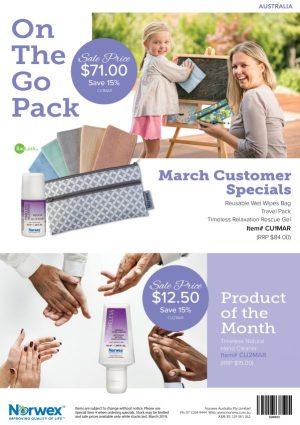 March 2019 Norwex Customer Specials Australia | SustainableSuburbia.net