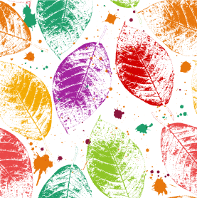 Six Eco Friendly crafts for kids - leaf prints | SustainableSuburbia.net