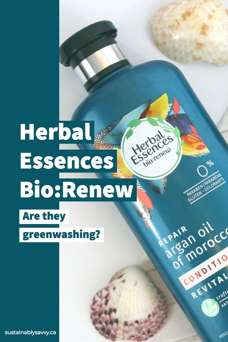 Herbal Essences Bio:renew_ Greenwashing_