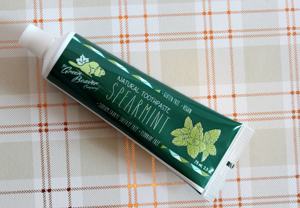 green beaver natural toothpaste spearmint review