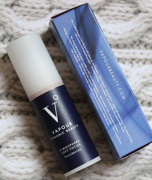 vapour atmosphere soft focus foundation natural makeup haul