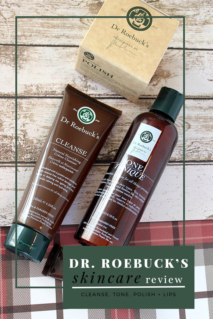 DR. ROEBUCK'S SKINCARE REVIEW