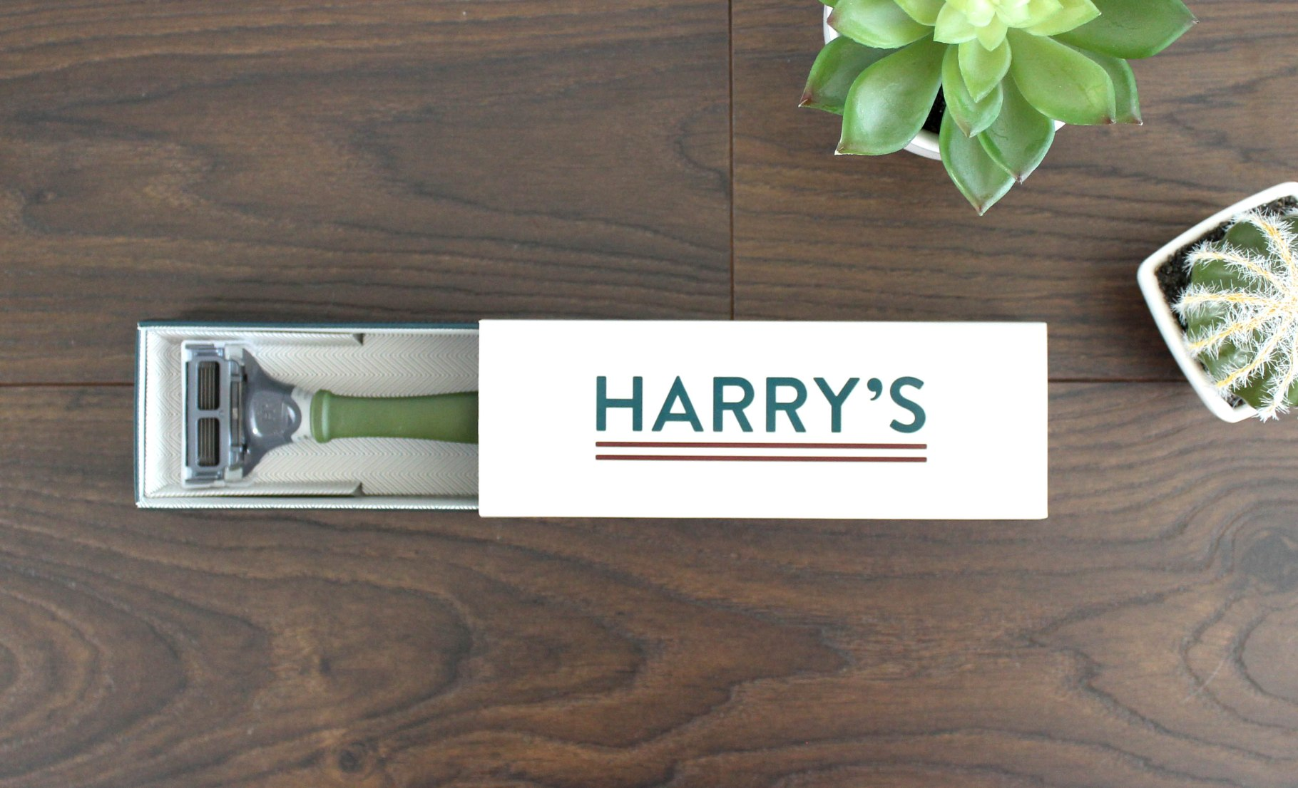 Harry's Truman Razor Why pay nearly $5 for a razor blade when you can spend $1.75?