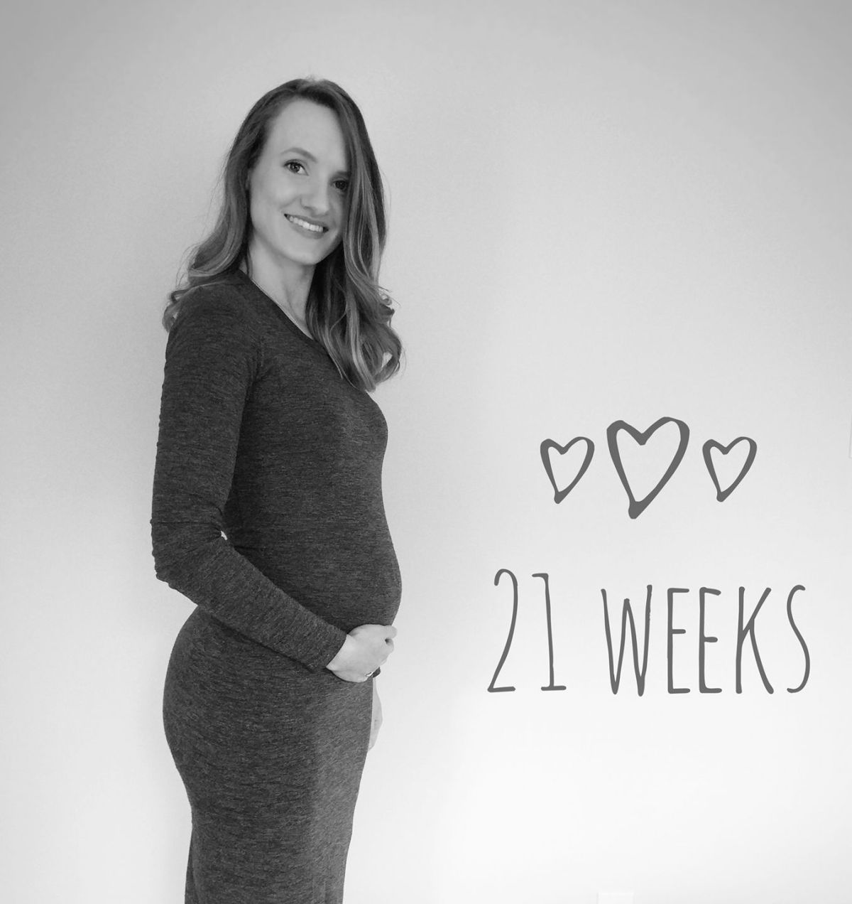 The Second Trimester The one and only bump photo I've taken!