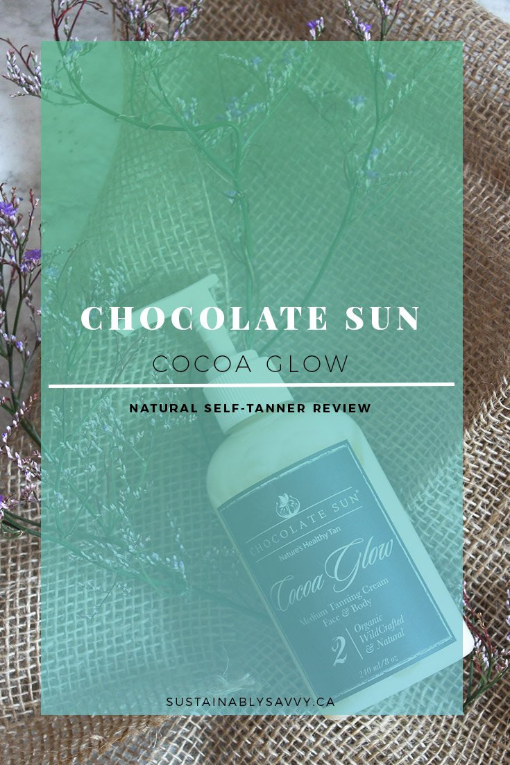 CHOCOLATE SUN COCOA GLOW SELF TANNER REVIEW