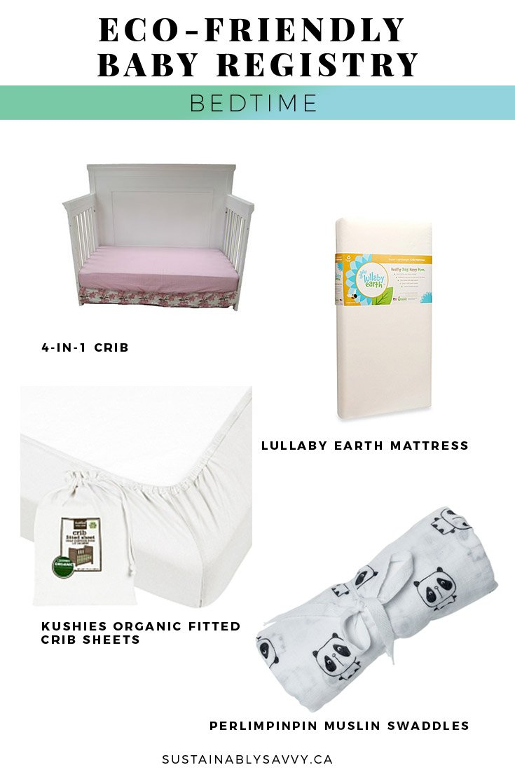 ECO FRIENDLY BABY REGISTRY BEDTIME
