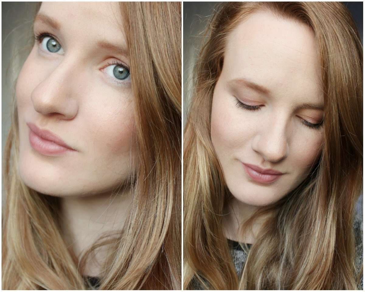 Wearing Dr. Hauschka Natural Makeup On my eyes: Dr. Hauschka Eyeshadow Trio & Volume Mascara