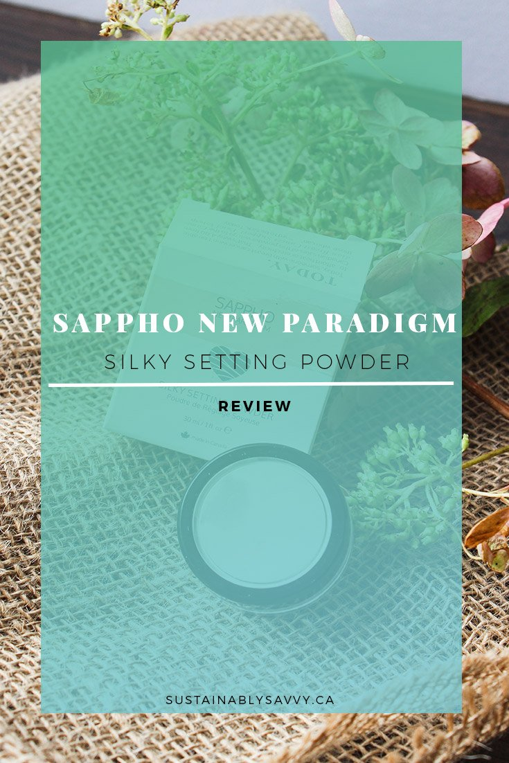 SAPPHO NEW PARADIGM SETTING POWDER PINTEREST