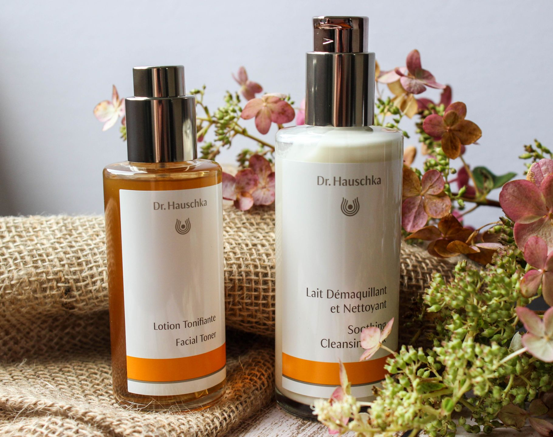 dr. hauschka toner and cleansing lotion