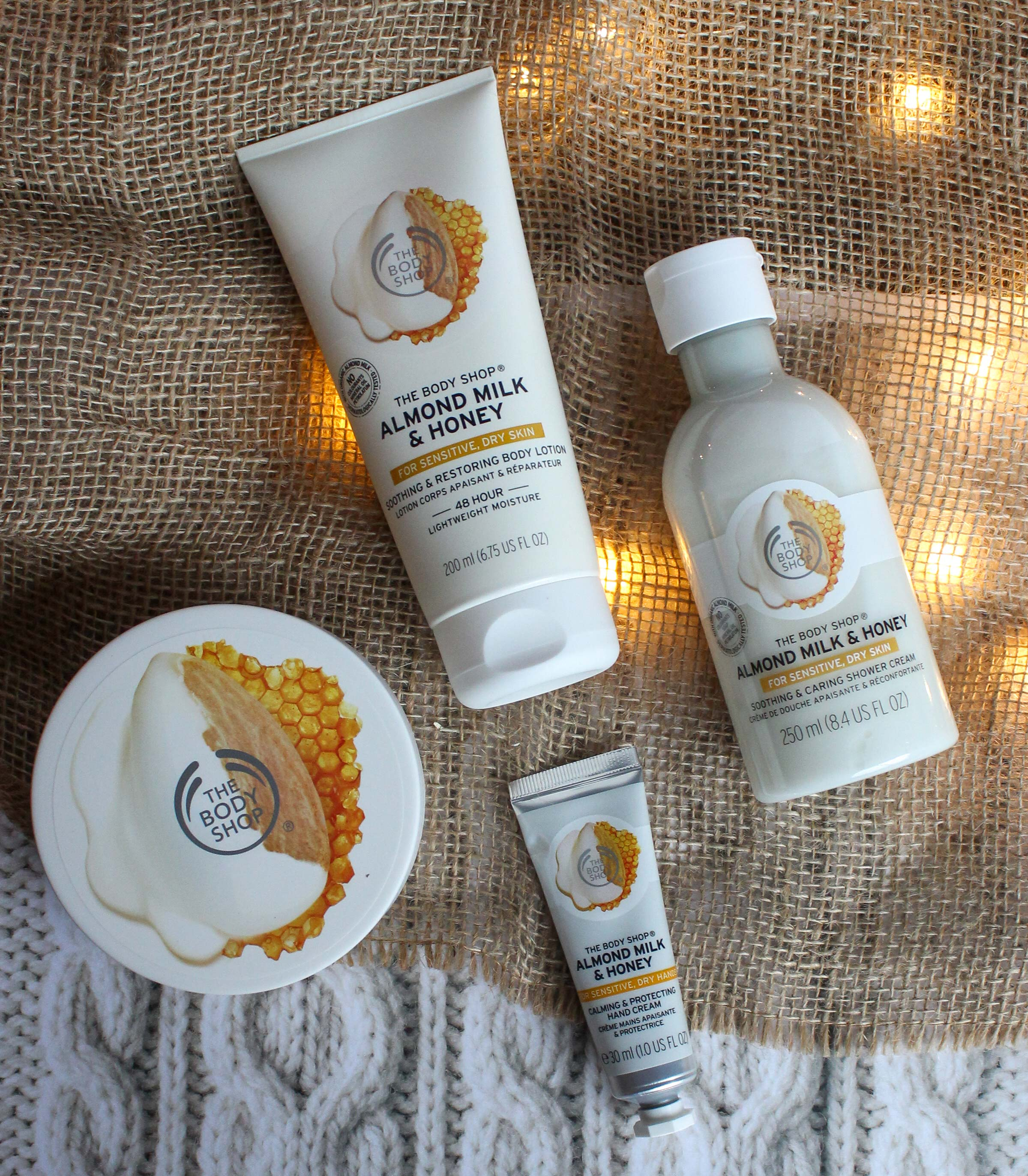 The Body Shop Almond Milk & Honey Gift Ideas