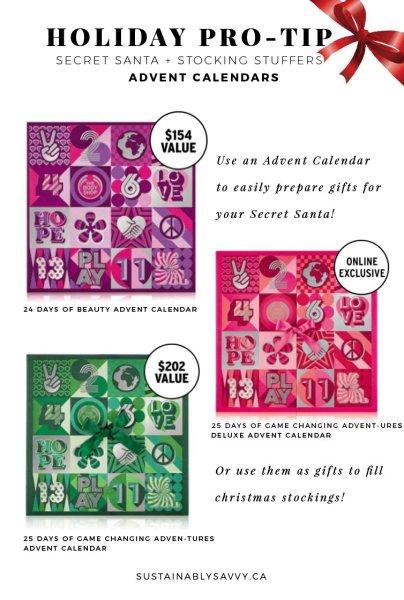 Advent Calendar Gift Ideas The body Shop