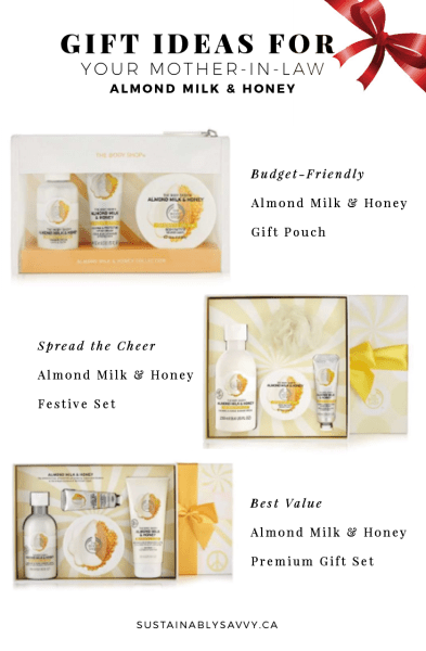 Gift Ideas for Mother in Law The body Shop