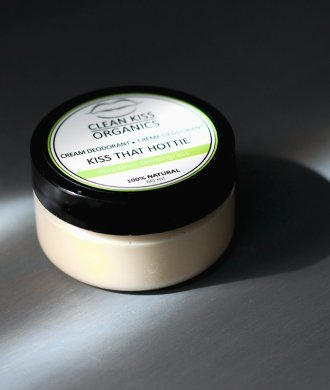 clean kiss organics natural deodorant